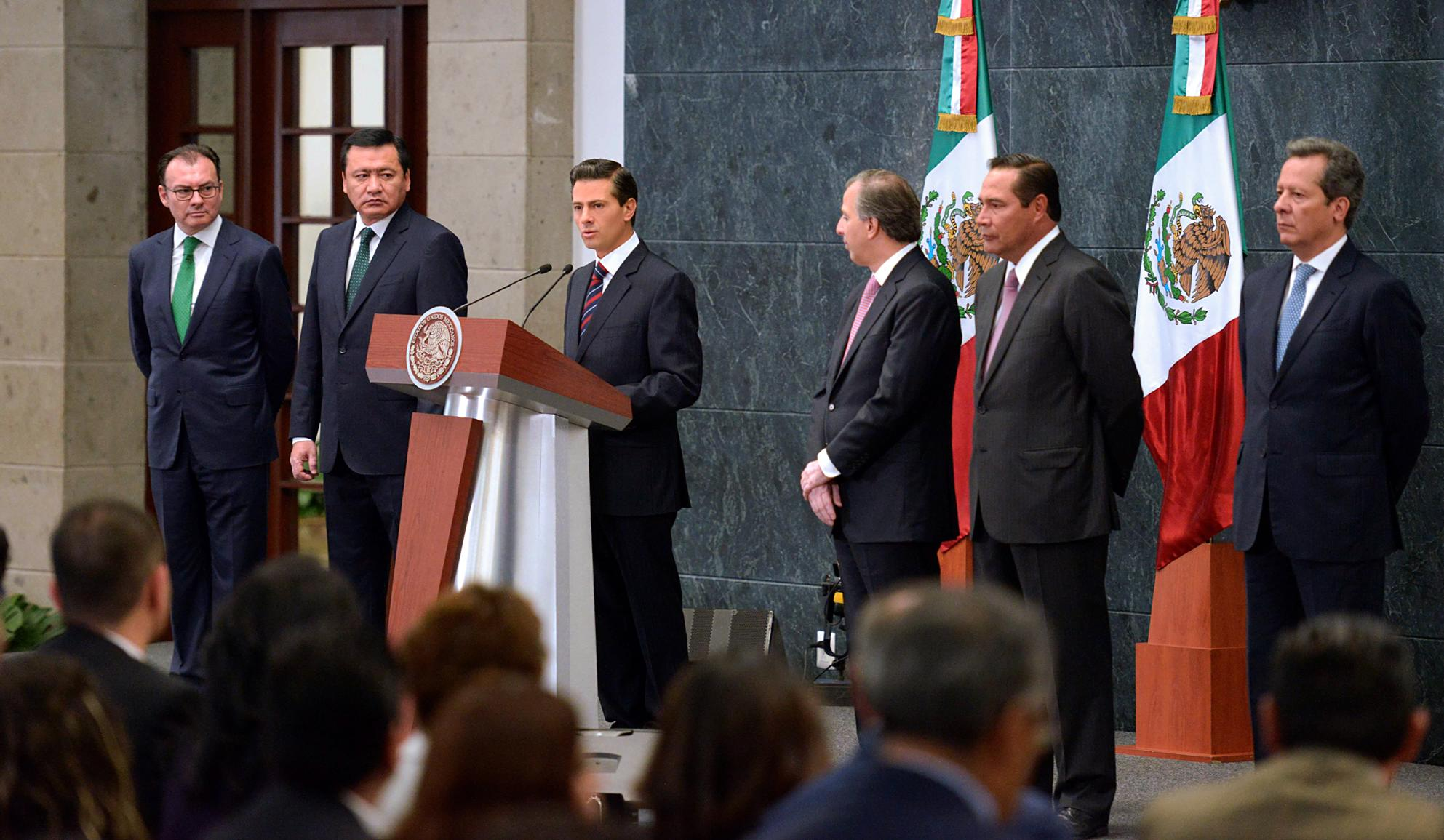 El Primer Mandatario expresó su reconocimiento a la labor y los resultados de Luis Videgaray al frente de la SHCP.
