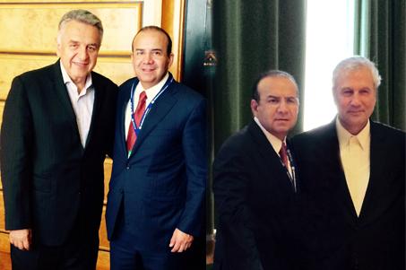 El Secretario Alfonso Navarrete Prida, se reunió con el Ministro de Trabajo de Colombia, Luis Eduardo Garzón, y con el Ministro de Cooperativas, Trabajo y Bienestar Social de la República Islámica de Irán, Ali Rabiei.