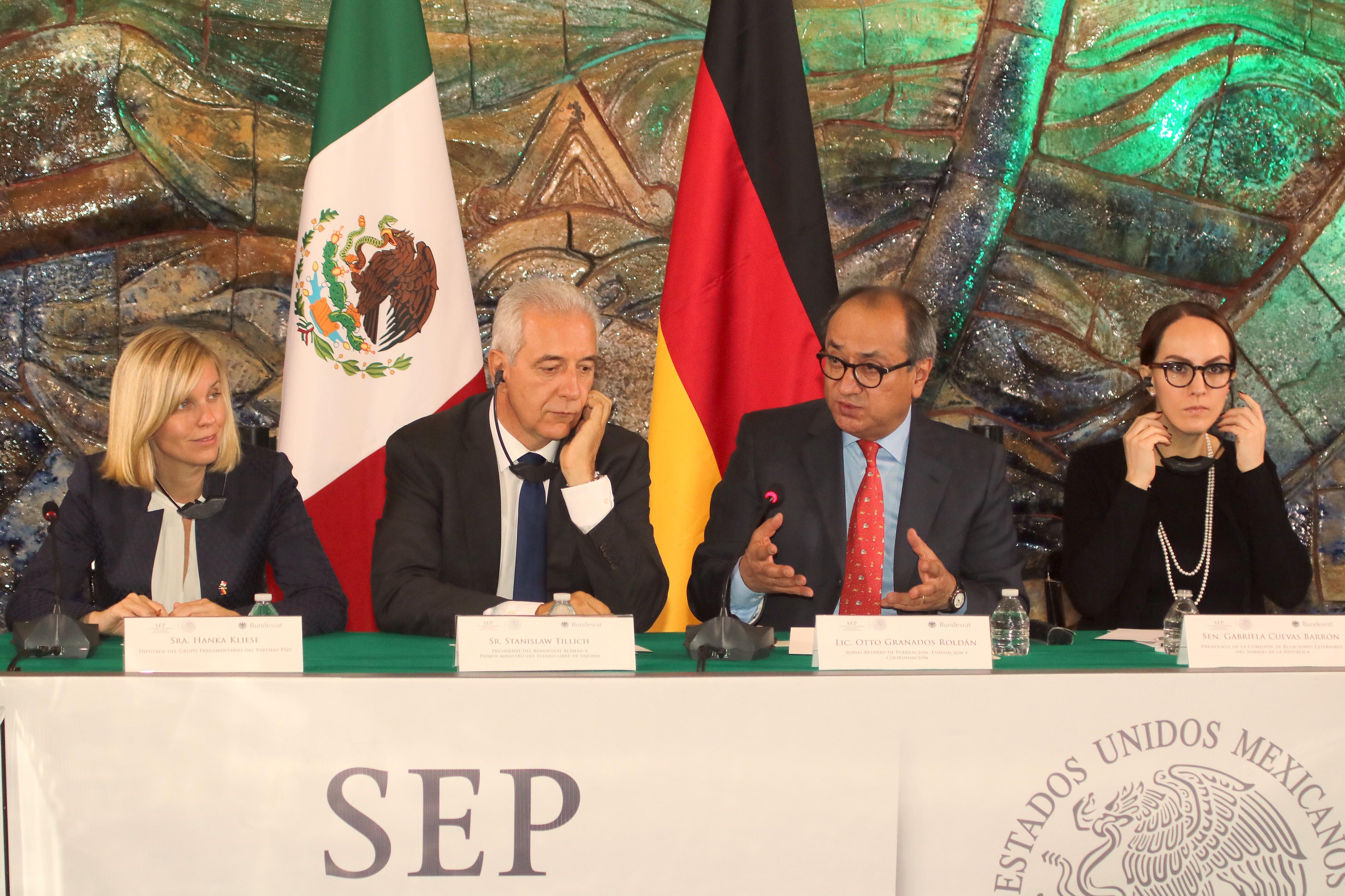 México y Alemania comprometidos con la formación dual y la investigación