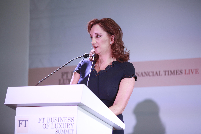 La Secretaria de Turismo del Gobierno de la República, Claudia Ruiz Massieu, asegura que México se consolidará como potencia turística mundial, al inaugurar The Business of Luxury Summit 2014.
