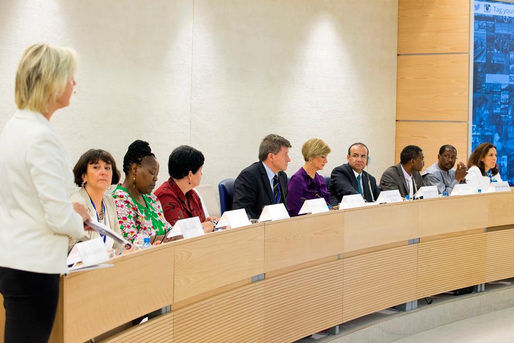 """Participa Secretario Alfonso Navarrete Prida y Kailash Satyarthi, Premio Nobel de la Paz 2014, en Mesa de Alto Nivel """"No al trabajo infantil, Sí a la educación de calidad""""."""