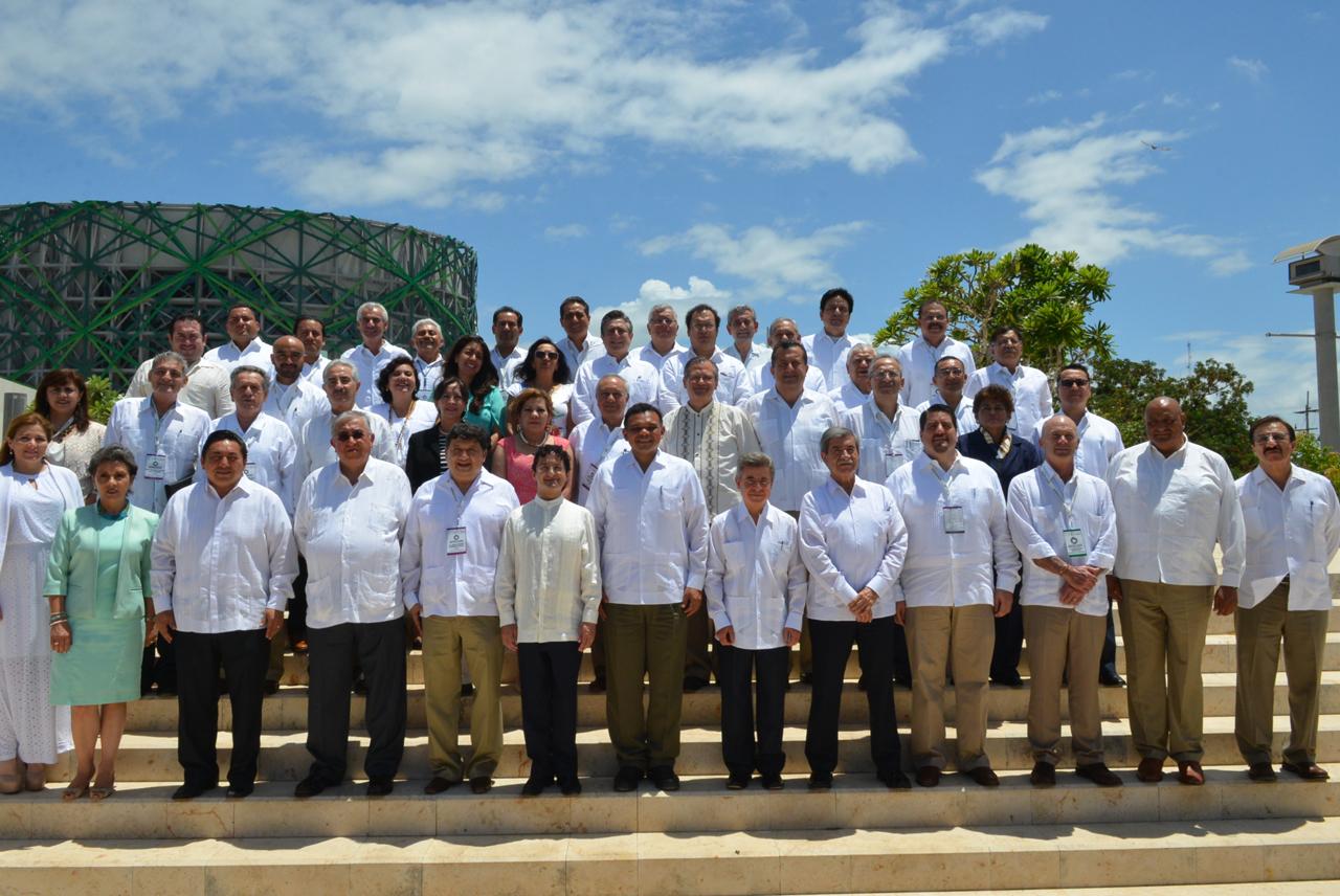 El objetivo principal de la 54 Reunión Nacional de la Comisión Permanente de Contralores Estados-Federación (CPCE-F) fue dar a conocer la Agenda Común para trabajar en la consolidación de las acciones ejecutivas anunciadas en febrero por el Presidente.