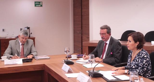 Reitera el nuevo representante de la FAO, Fernando Soto Baquero, el propósito de reforzar las relaciones de trabajo con el Gobierno de México.