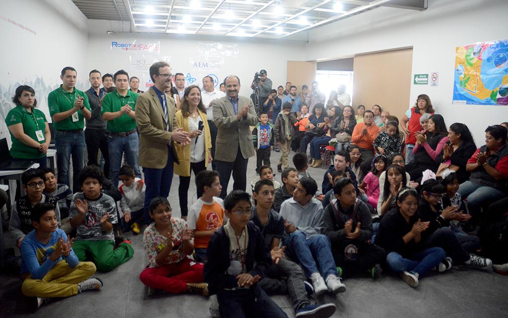 Inicia Feria Nacional de Robótica Punto México Conectado
