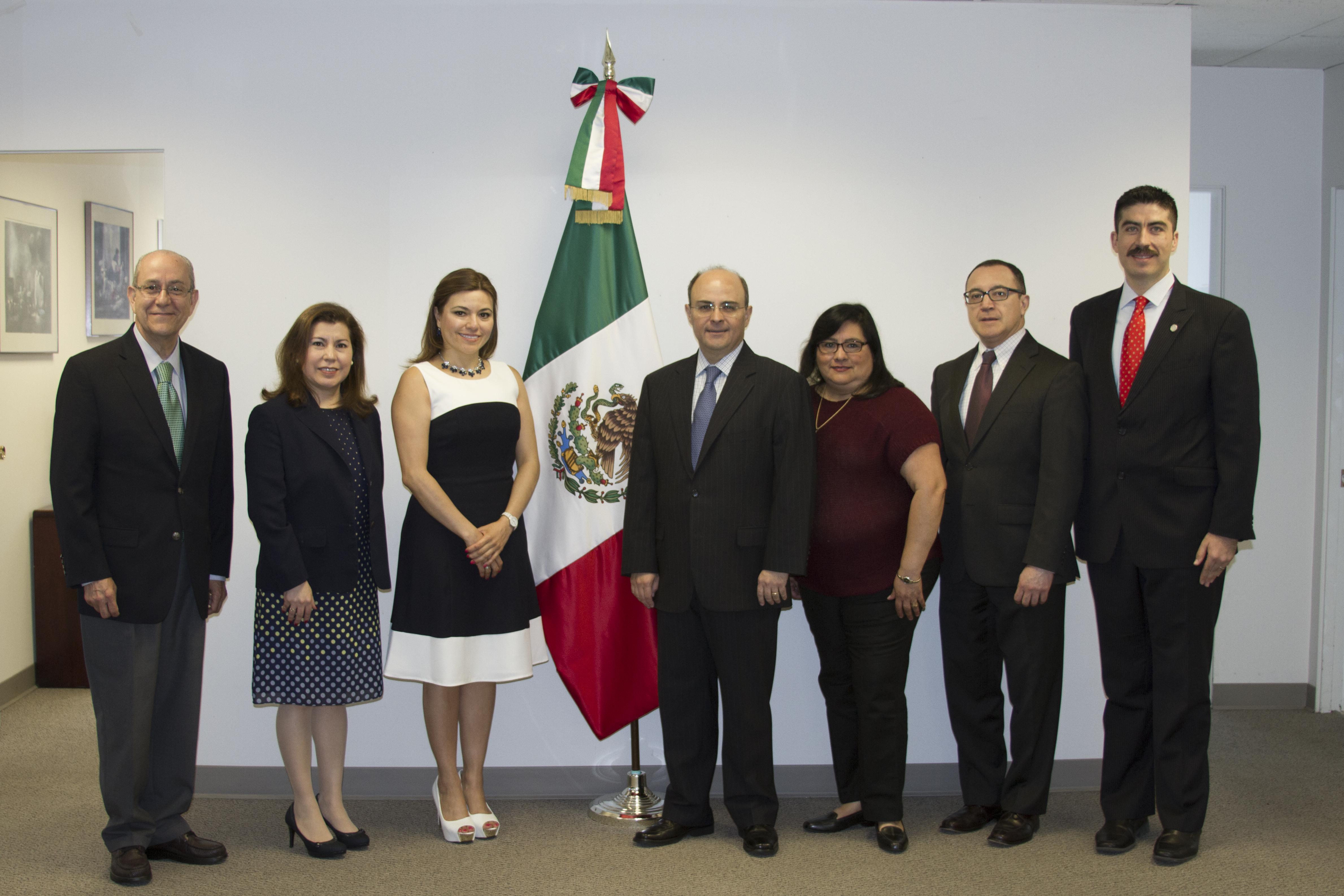 El Subsecretario Sergio Alcocer, realizó visita de trabajo a la ciudad de Portland