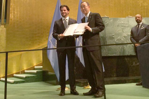 México ratificó ante la ONU el Acuerdo de París.