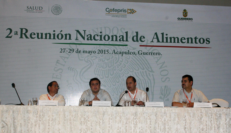 Clausura de la Segunda Reunión Nacional de Alimentos