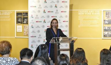 La Canciller Claudia Ruiz Massieu entregó reconocimiento al Consulado General de México en Nueva York