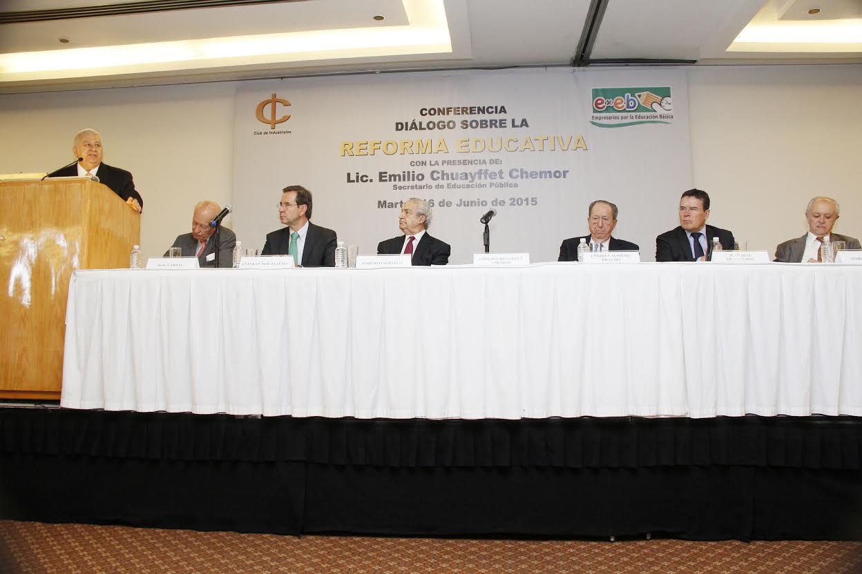 Discurso del Secretario Emilio Chuayffet en el club de industriales