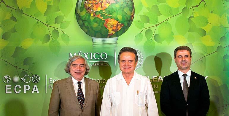 Secretarios de Energía de Estados Unidos, México y Suecia