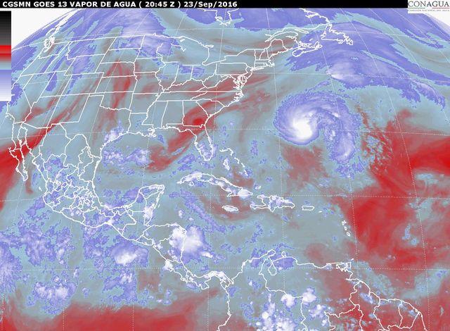 Para las próximas horas se prevén tormentas intensas en zonas de Oaxaca y Chiapas
