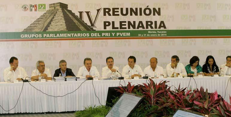 El Secretario de Energía asistió a la IV Reunión Plenaria del PRI y PVEM