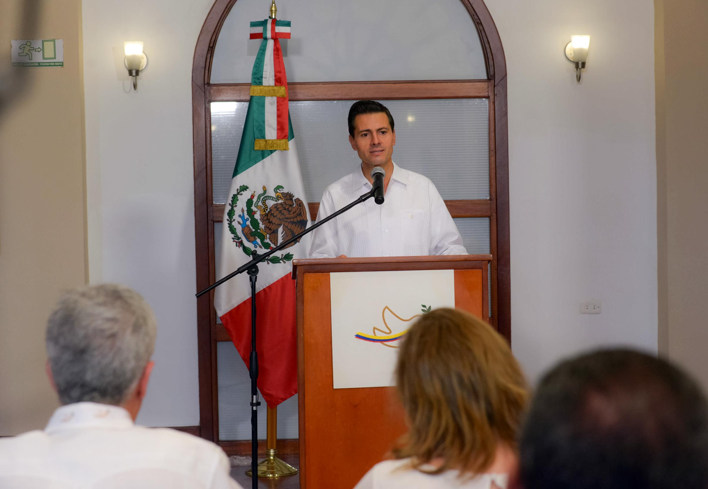 """The government's sole interest has been to determine exactly what happened in Ayotzinapa, in Iguala, with total openness and transparency"""": EPN"""