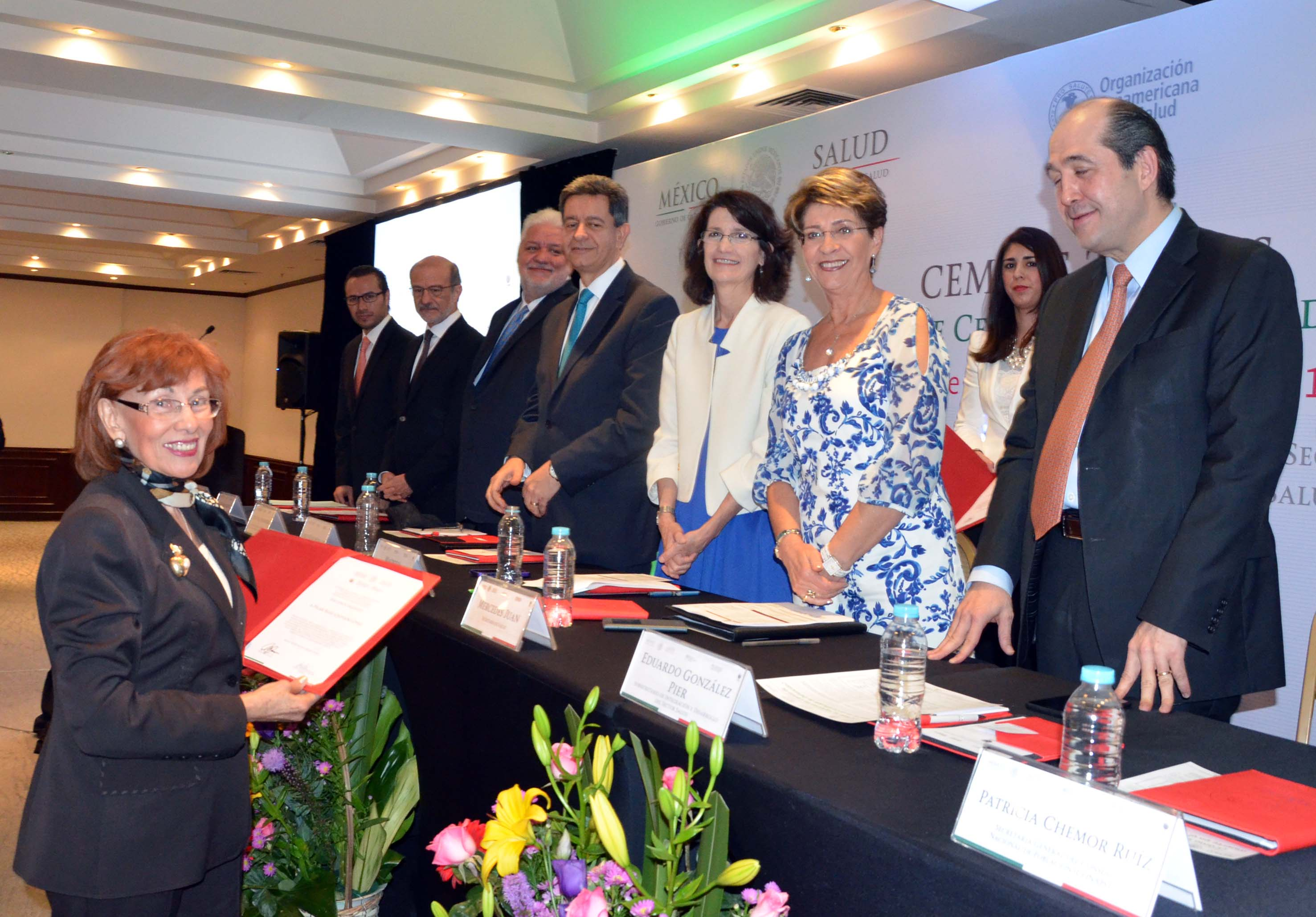 Trabajos de la 2ª Reunión de la Red de Centros Colaboradores de la OMS en México,