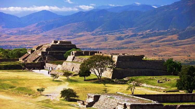Zona Arqueológica de Monte Albán, Oaxaca.