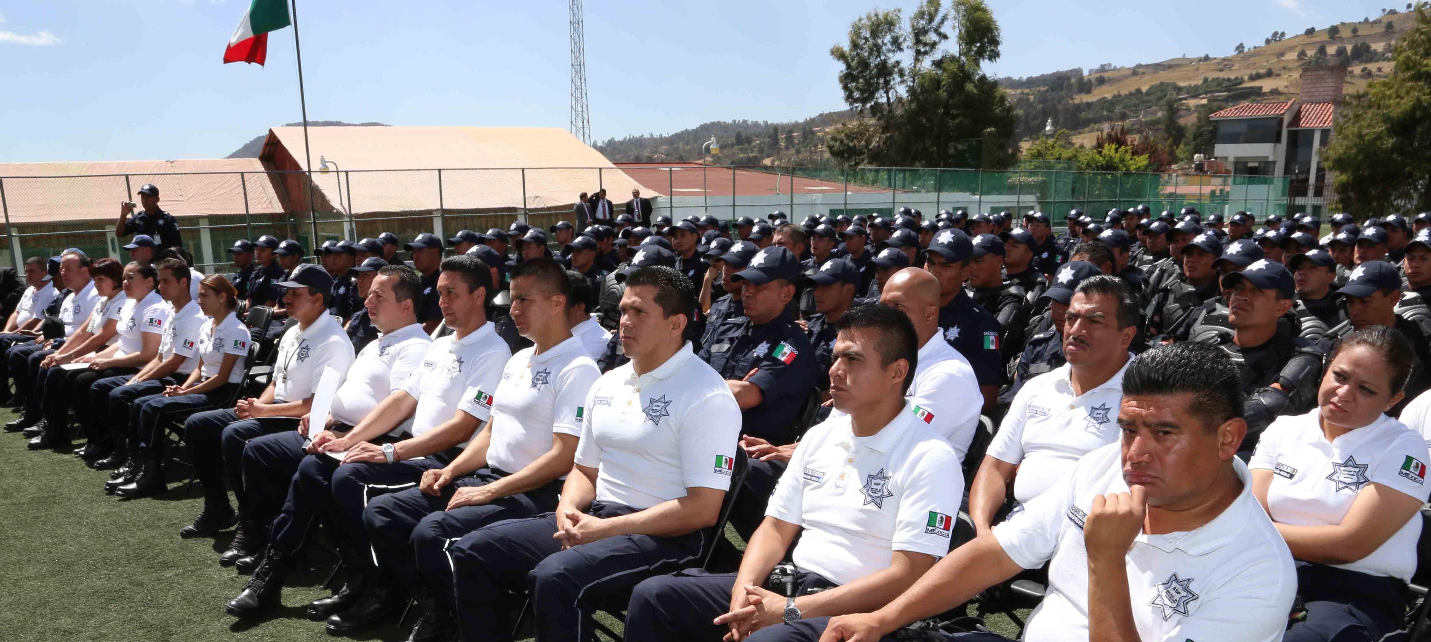 La Décima tercera generación de graduados del Servicio de Protección Federal se suma al esfuerzo que encabeza la Comisión Nacional de Seguridad y la Policía Federal