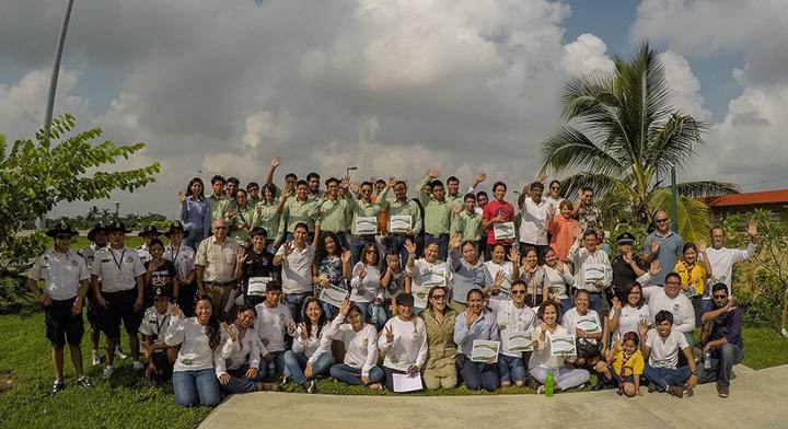 Los voluntarios de la CONANP, aliados por la conservación de las áreas naturales protegidas