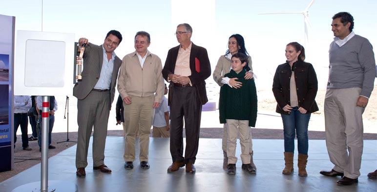Inauguración parque eólico Los Altos. Ojuelos, Jalisco