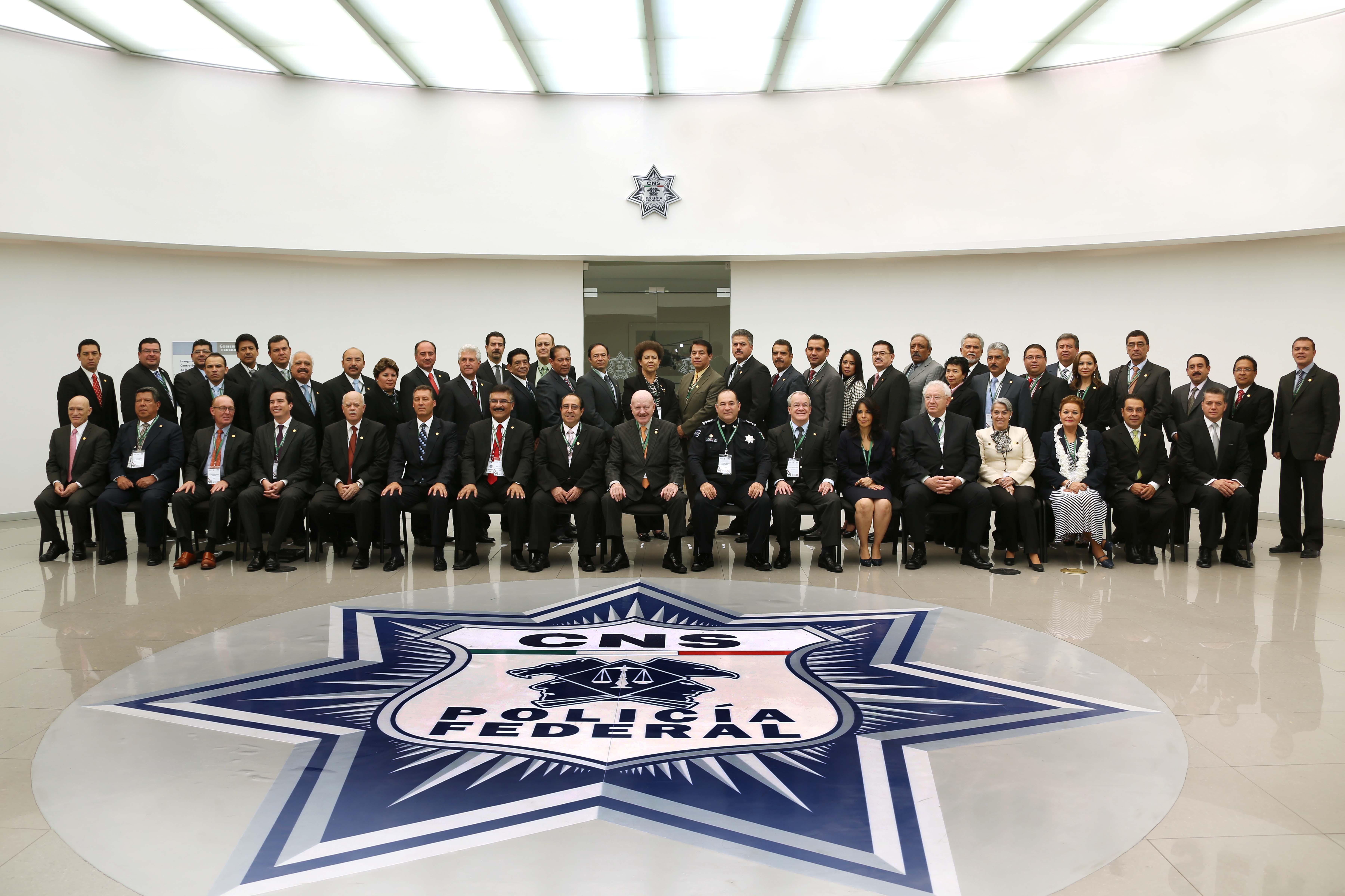 La IX Conferencia Nacional del Sistema Penitenciario se llevó a cabo en las instalaciones del Centro de Inteligencia de la Policía Federal, en la Ciudad de México