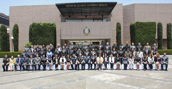 Curso de la ONU en el Centro de Estudios Superiores Navales de la Secretaría de Marina