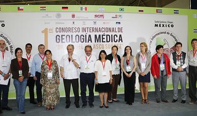 """Primer Congreso Internacional de Geología Médica 2016 """"Dr. Manuel Velasco Suárez"""""""