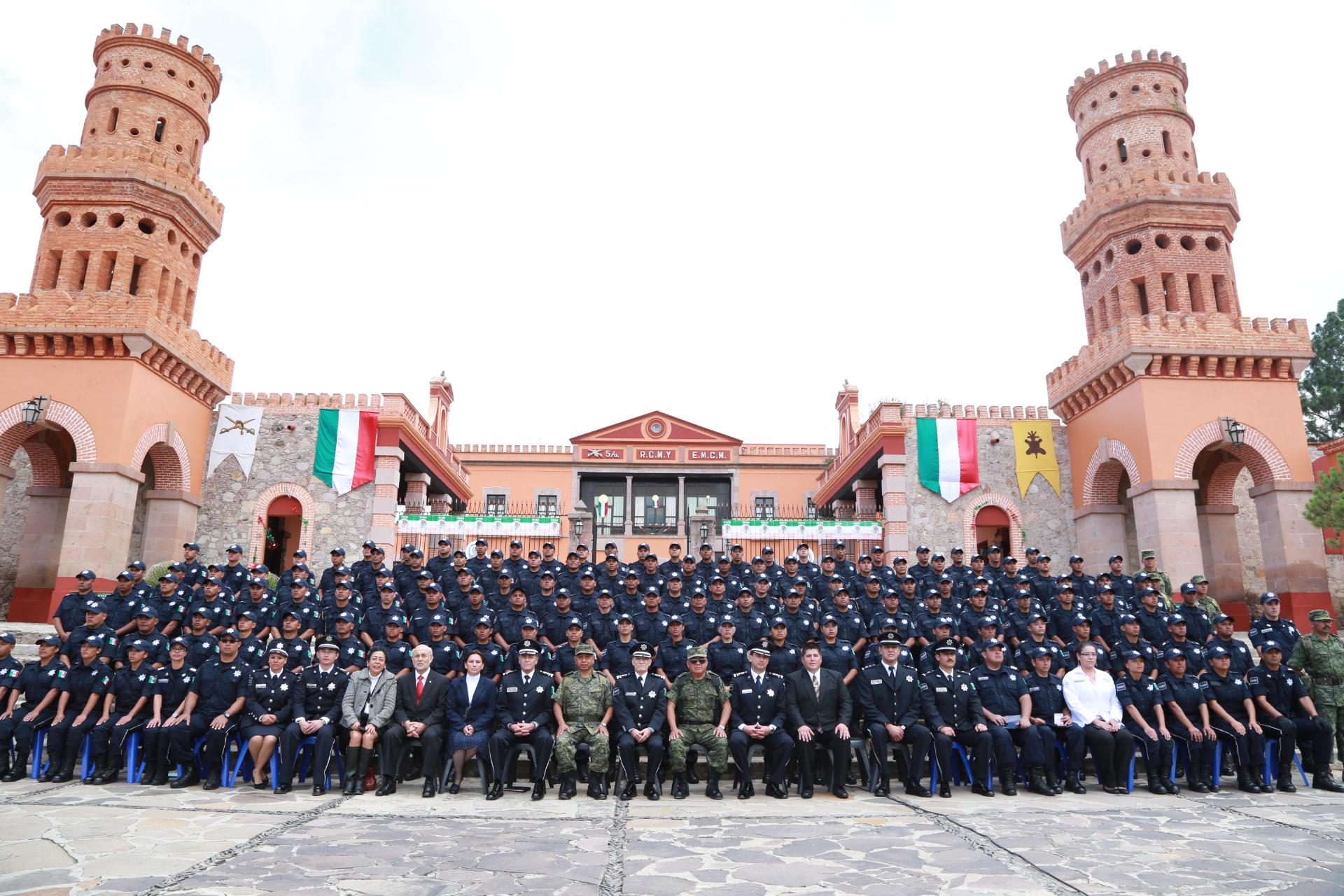 La ceremonia de graduación se llevó a cabo en las instalaciones de la VI Región Militar de la Secretaría de la Defensa Nacional, ubicadas en Mazaquiahuac, Tlaxcala, lugar donde los elementos fueron instruidos
