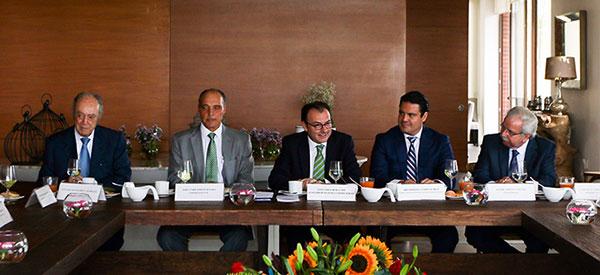 Encuentro con empresarios de Jalisco