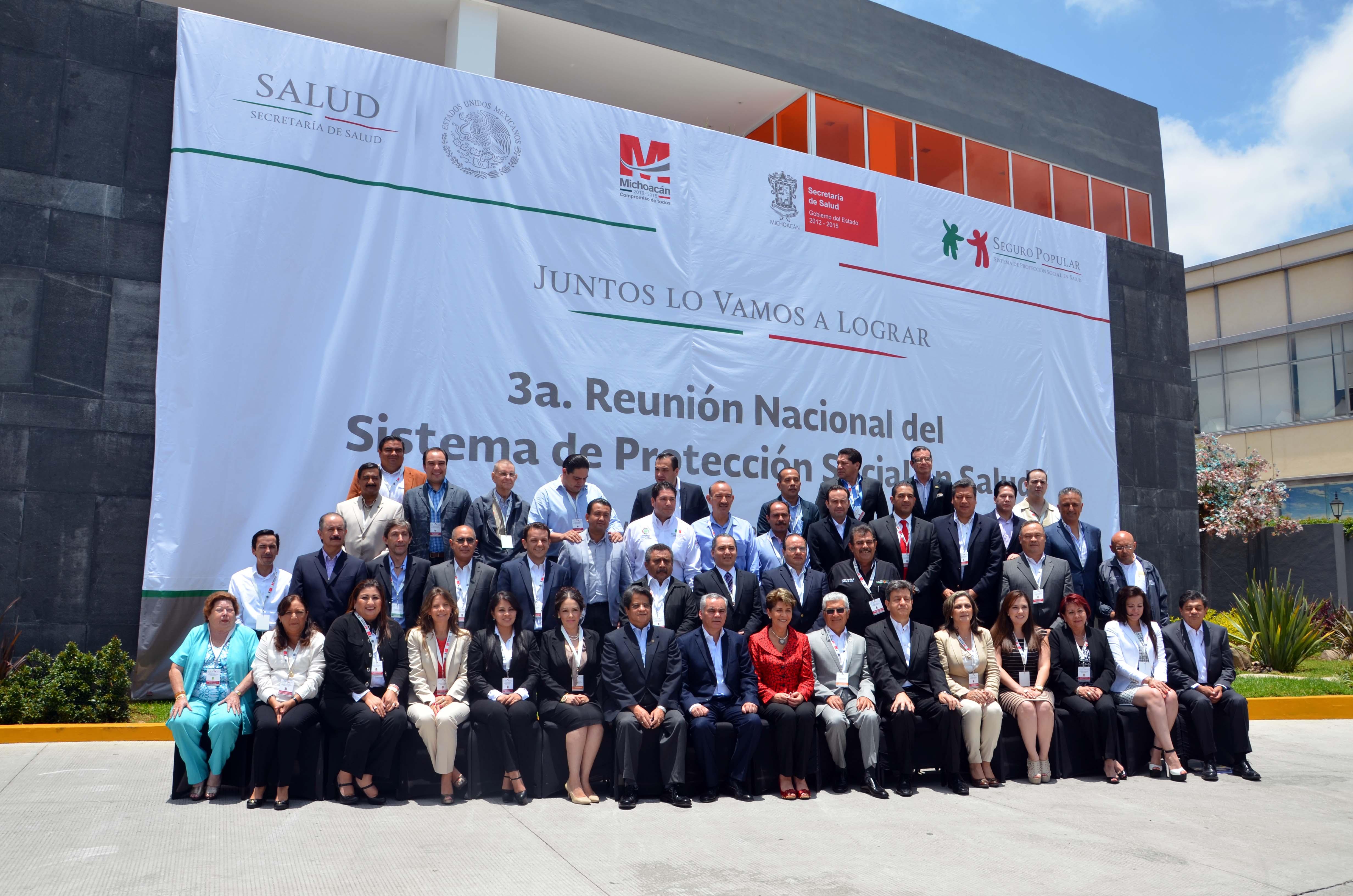 Tercera Reunión del Sistema Nacional de Protección Social en Salud