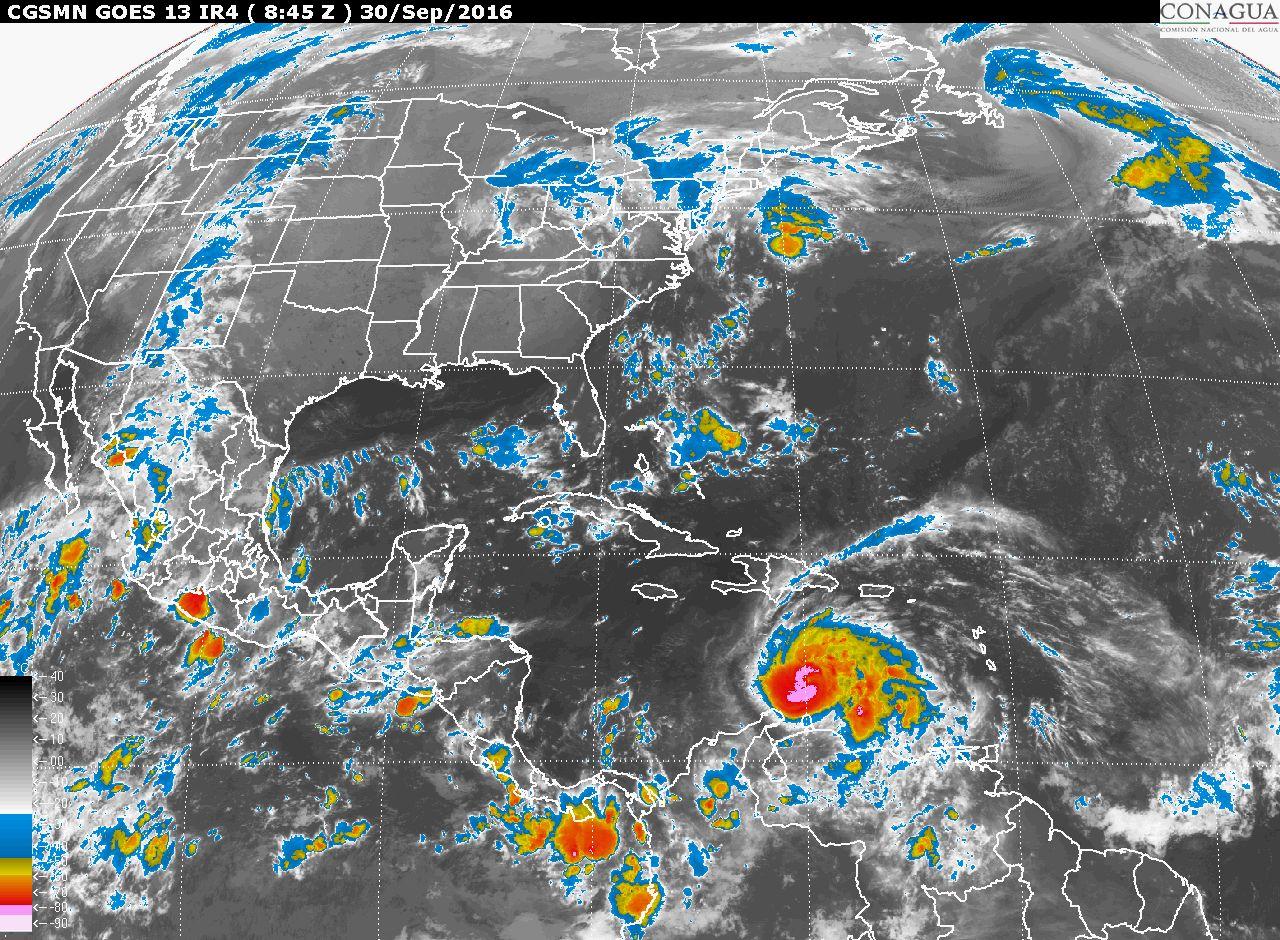 El Frente Frío Número 2 generará tormentas muy fuertes en Tamaulipas, Puebla y el norte de Veracruz.