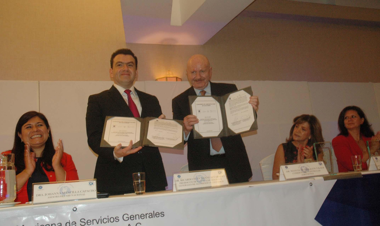 CONADIC firma convenio de colaboración con el grupo Alcohólicos Anónimos