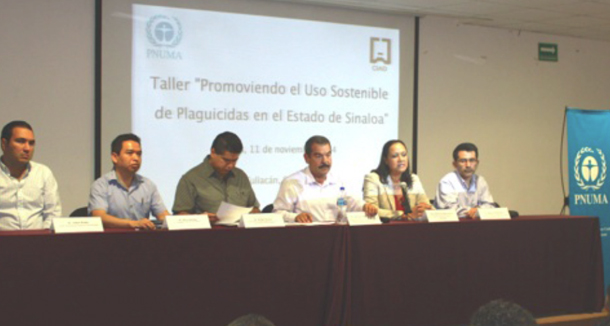 Promoviendo el uso sostenible de plaguicidas en el estado de Sinaloa