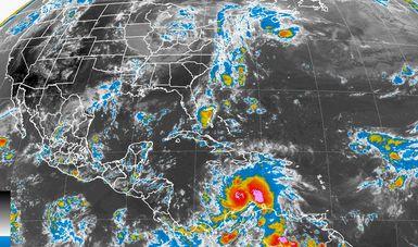 Se pronostican tormentas intensas en Puebla y muy fuertes en Veracruz, debido al Frente Frío No. 2