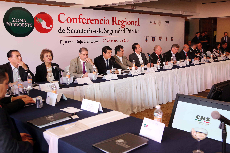 La Conferencia Regional contó con la participación de representantes de los estados de Baja California, Baja California Sur, Chihuahua, Sinaloa y Sonora, como integrantes de la zona