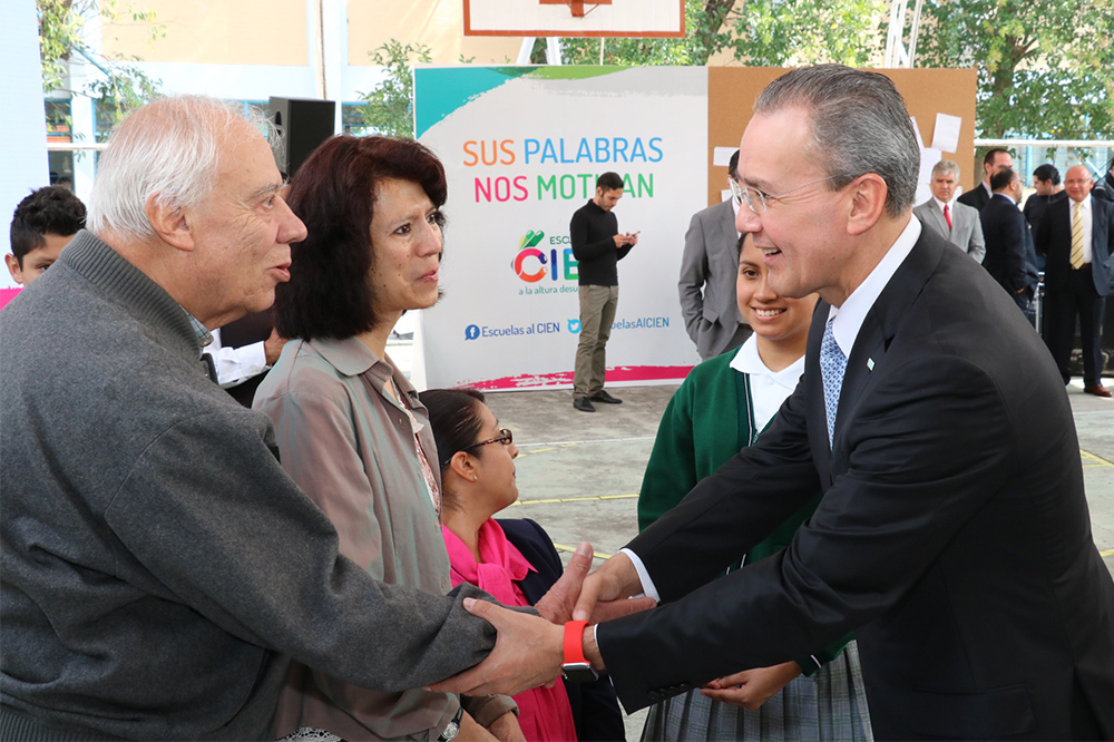Destaca director general del Inifed la transparencia de ese programa de la Secretaría de Educación Pública, que rehabilitará más de 33 mil escuelas del país