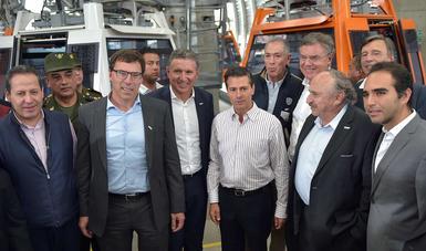 El Presidente Enrique Peña Nieto afirmó que las obras de infraestructura urbana y de transporte masivo que el Gobierno de la República ha venido impulsando, dan al país mayor competitividad.