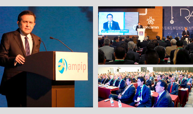 El Secretario de Economía participó en el 30 Aniversario de la AMPIP y en la RAI de la CONCAMIN en Guadalajara, Jalisco