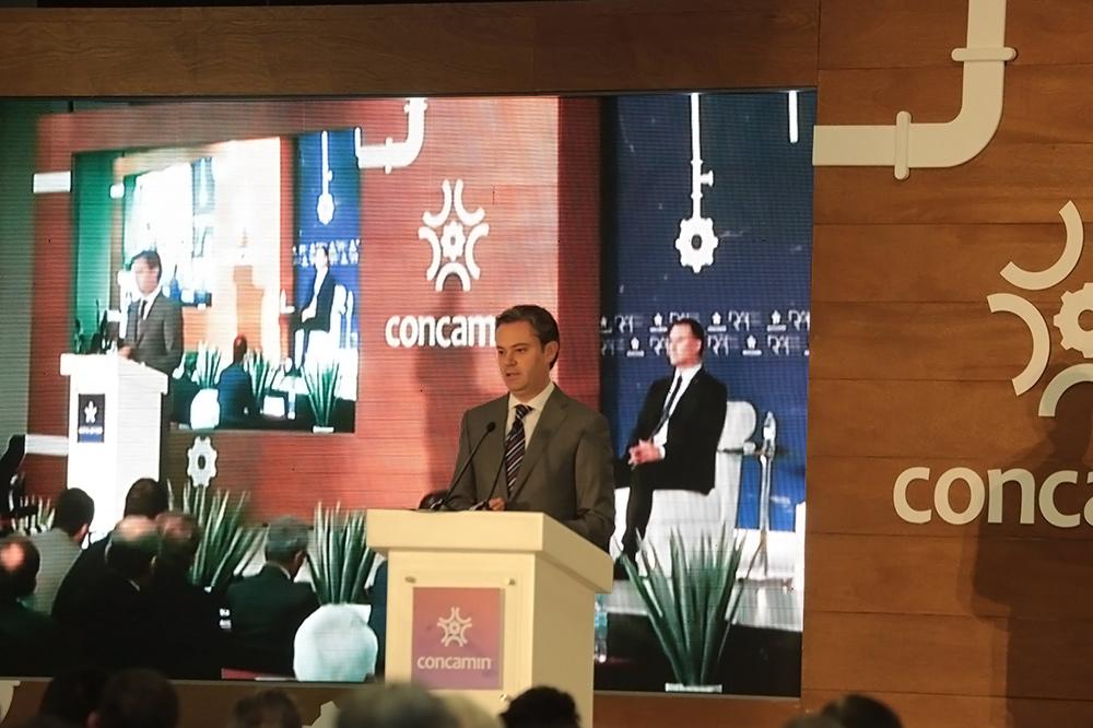 Reunión Anual de Industriales de la Concamin, en Guadalajara, Jalisco