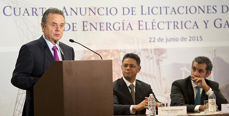 Cuarto Anuncio de Licitaciones de Infraestructura de Energía Eléctrica y Gasoductos