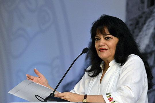 Patricia Martínez Cranss, Subsecretaria de Empleo y Productividad Laboral de la Secretaría del Trabajo y Previsión Social.