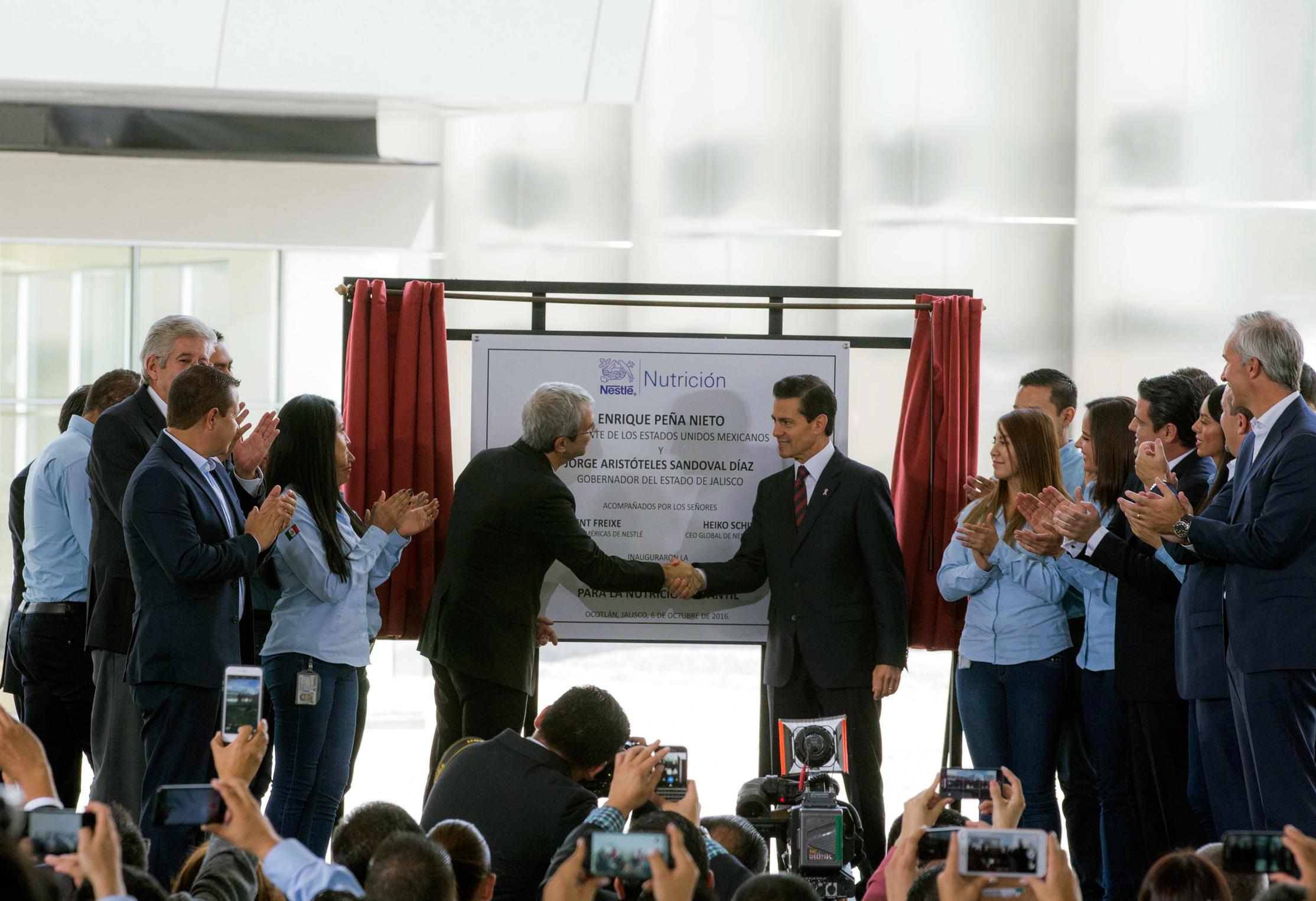The president inaugurated Nestlé's child nutrition factory: Nantli
