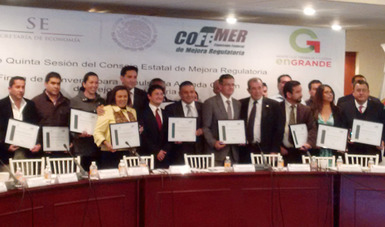 Se fortalece la política de apertura de empresas en 20 municipios del Estado de México
