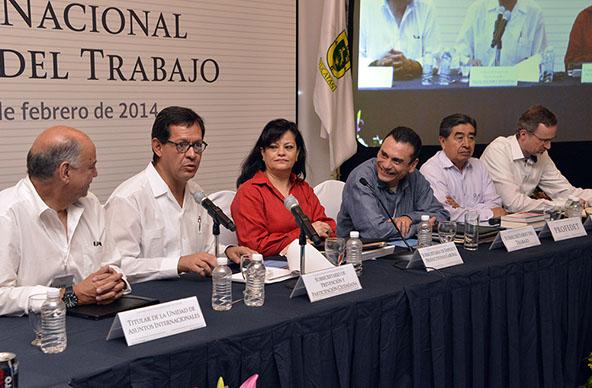 El Subsecretario de Prevención y Participación Ciudadana de la Secretaría de Gobernación, Roberto Campa Cifrián, participó en la Conferencia Nacional de Secretarios del Trabajo.