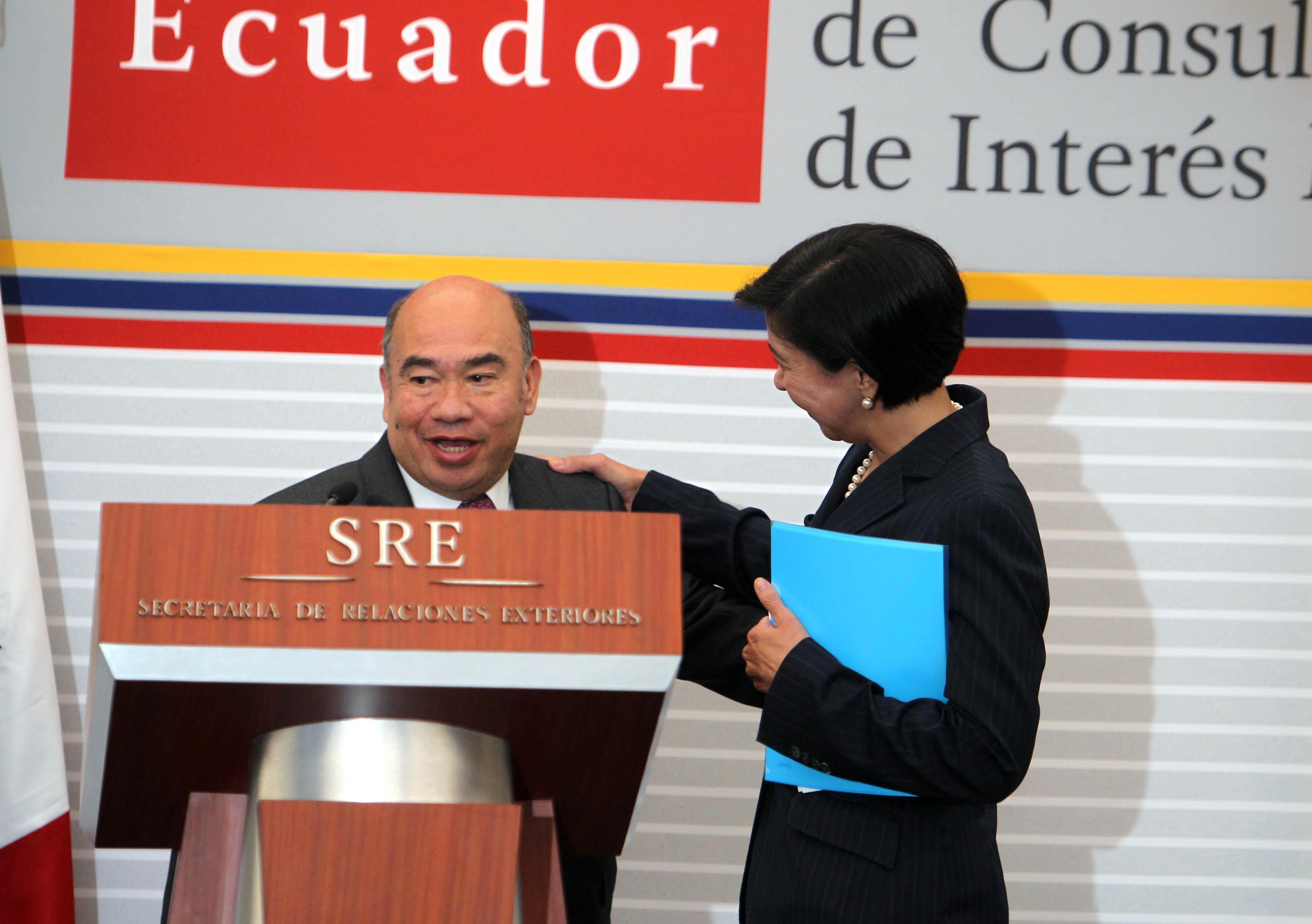 México y Ecuador celebran la V Reunión del Mecanismo de Consulta en Materias de Interés Mutuo