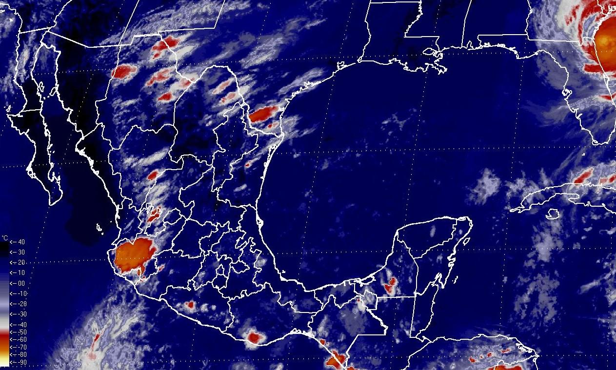 Para las próximas horas se estiman tormentas intensas en Nuevo León, Tamaulipas y San Luis Potosí