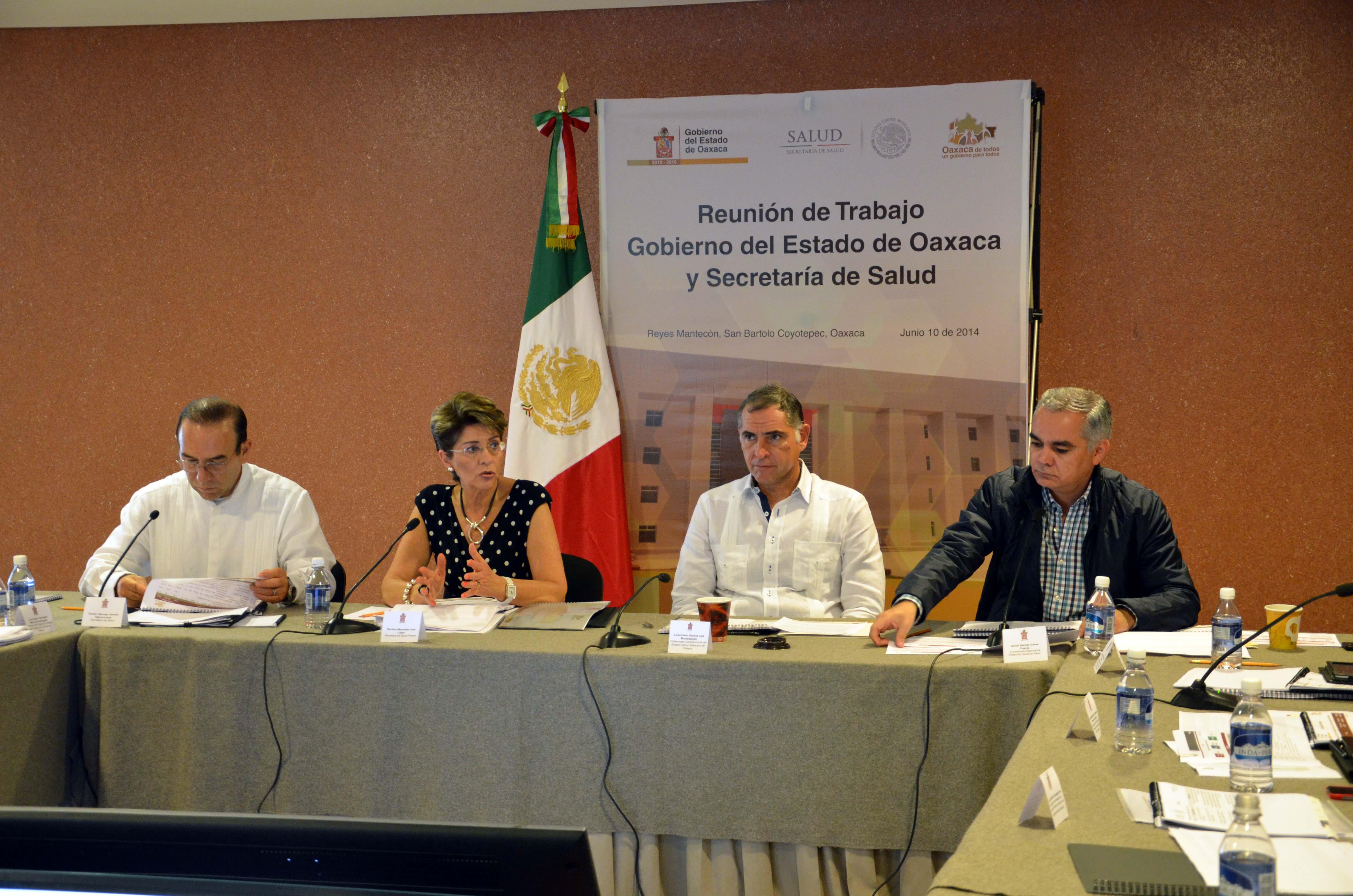 Mejorar calidad y oportunidad de servicios de salud en Oaxaca