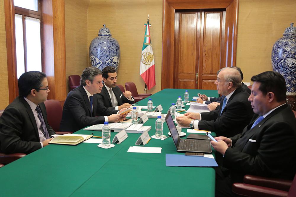 Ambos analizaron los proyectos de colaboración vigentes entre ambas instituciones y exploraron nuevas oportunidades de cooperación