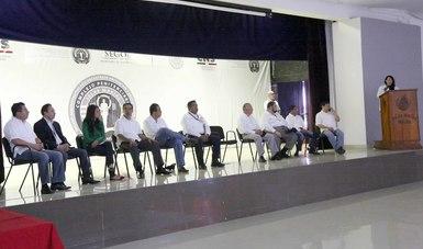 La Comisión Nacional de Seguridad, concluyó en el Penal Federal Islas Marías, los talleres interinstitucionales que implementó en todo el país