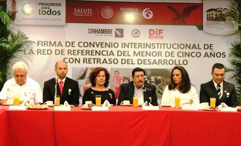Convenio de Red de Referencia y Contrarreferencia de la Estrategia de Desarrollo Infantil