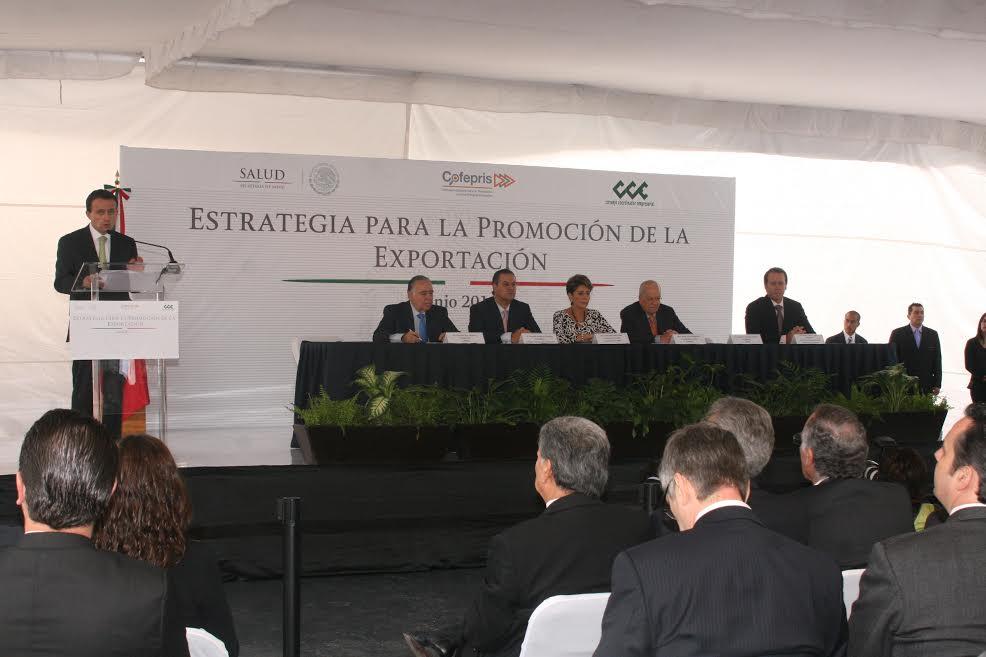 Estrategia para la promoción de la exportación