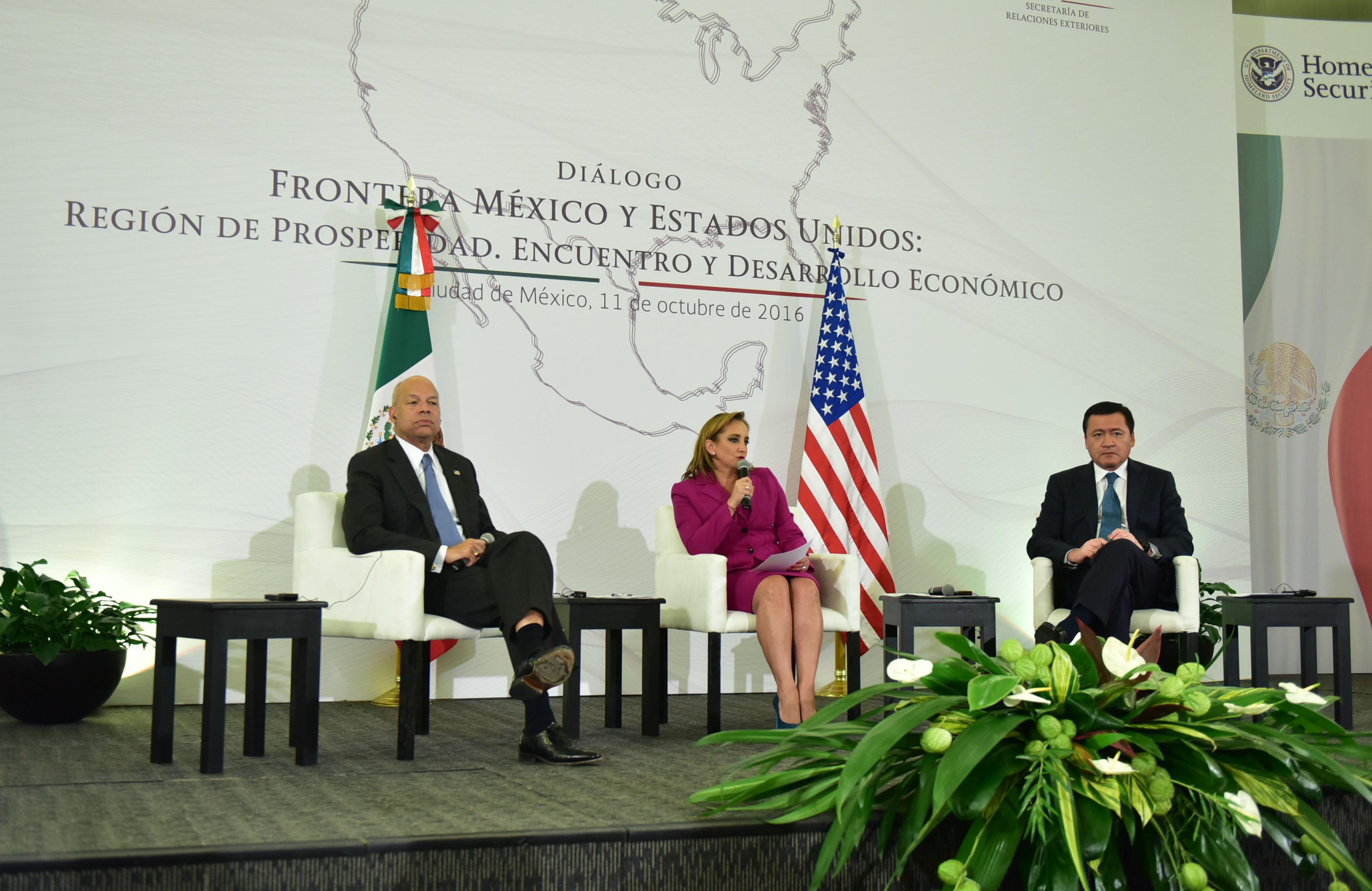 Diálogo Frontera México-Estados Unidos: Región de Prosperidad, Encuentro y Desarrollo Económico